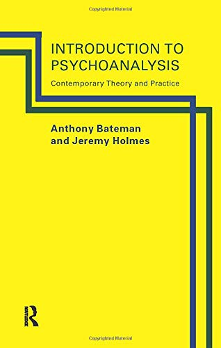 9780415107396: Introduction to Psychoanalysis: Contemporary Theory and Practice