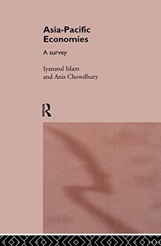 9780415107655: Asia-Pacific Economies: A Survey