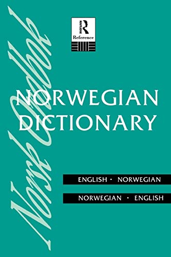 9780415108010: Norwegian Dictionary: Norwegian-English, English-Norwegian (Routledge Bilingual Dictionaries)