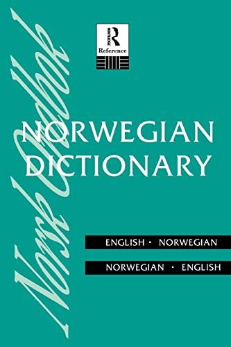 9780415108010: Norwegian Dictionary: Norwegian-English, English-Norwegian (Routledge Bilingual Dictionaries)