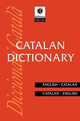 9780415108027: Catalan Dictionary: Catalan-English, English-Catalan (Routledge Bilingual Dictionaries)