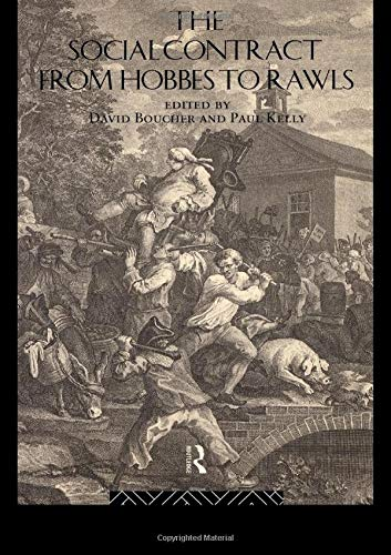 9780415108461: The Social Contract from Hobbes to Rawls