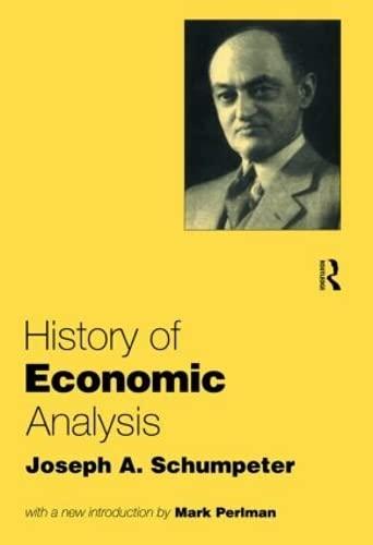 9780415108881: History of Economic Analysis