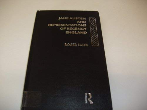 9780415109208: Jane Austen And Representations Of Regency England