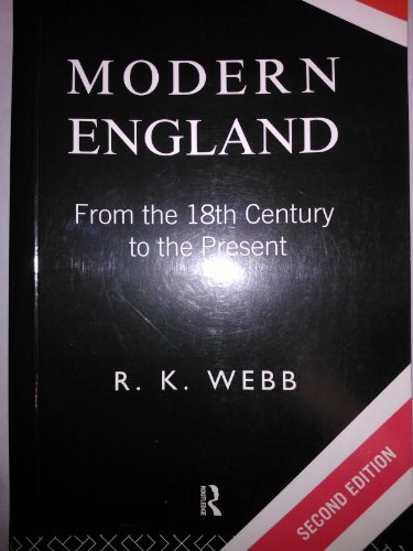 9780415109277: Modern England from the Eighteenth Century to the Present