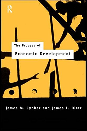 9780415110280: The Process of Economic Development: Theory, Institutions, Applications and Evidence