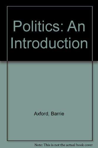 9780415110747: Politics: An Introduction