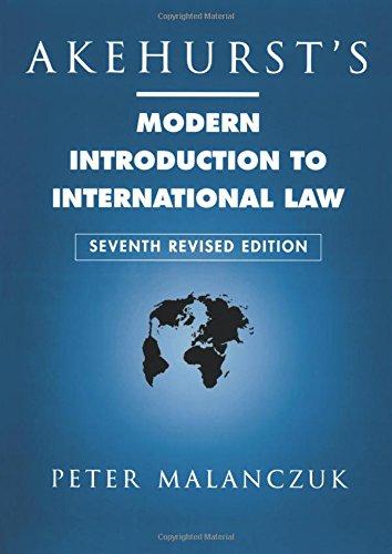 9780415111201: Akehurst's Modern Introduction to International Law