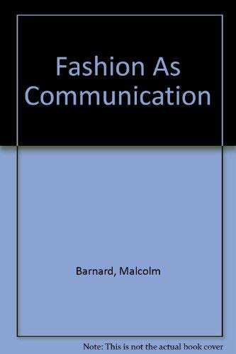 9780415111577: Fashion As Communication