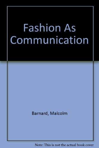 9780415111577: Fashion As Communication