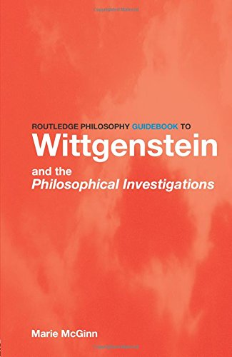9780415111911: Routledge Philosophy GuideBook to Wittgenstein and the Philosophical Investigations (Routledge Philosophy GuideBooks)
