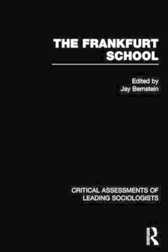 9780415112451: The Frankfurt School: Critical Assessments