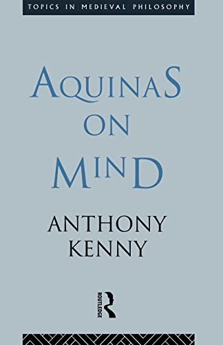 9780415113069: Aquinas on Mind (Topics in Medieval Philosophy)