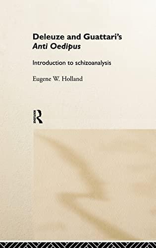 9780415113182: Deleuze and Guattari's Anti-Oedipus: Introduction to Schizoanalysis