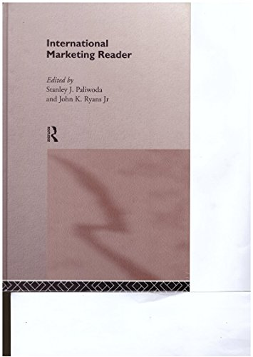 9780415114004: International Marketing Reader