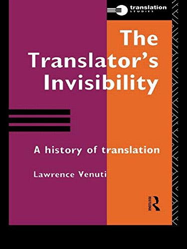 9780415115384: The Translator's Invisibility: A History of Translation
