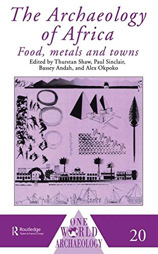 9780415115858: The Archaeology of Africa: Food, Metals and Towns (One World Archaeology)