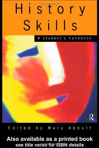 9780415116305: History Skills: A Student's Handbook