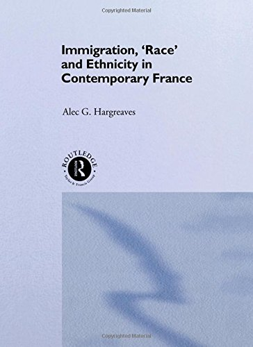 9780415118163: Immigration, 'Race' and Ethnicity in Contemporary France