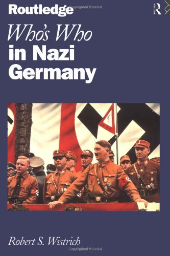 9780415118880: Who's Who In Nazi Germany