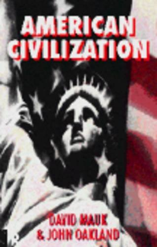 9780415119115: American Civilization