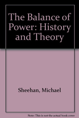9780415119306: The Balance of Power: History and Theory