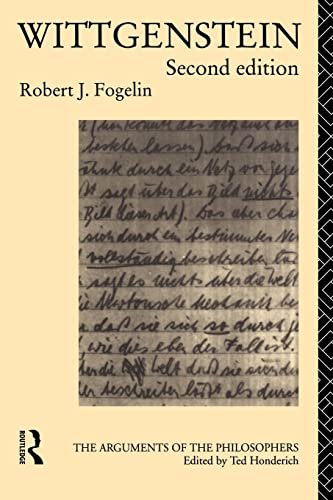 9780415119443: Wittgenstein (Arguments of the Philosophers)