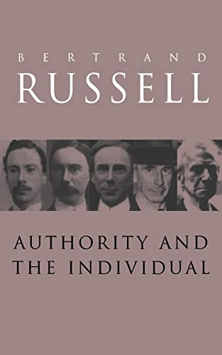 9780415119566: Authority and the Individual