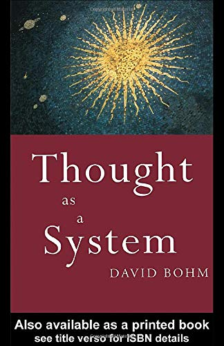 9780415119801: Thought as a System (Key Ideas)