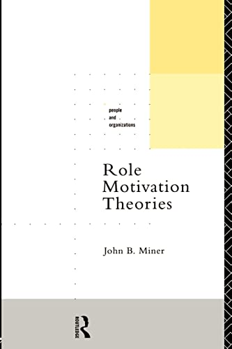 9780415119948: Role Motivation Theories (People and Organizations)