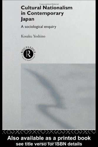 9780415120845: Cultural Nationalism in Contemporary Japan