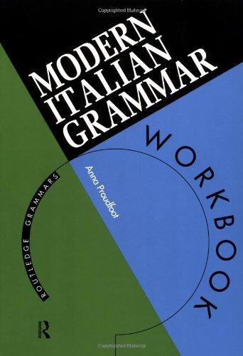 9780415120951: Modern Italian Grammar Workbook (Modern Grammar Workbooks)