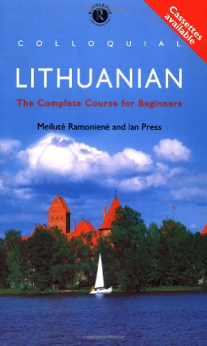 9780415121033: Colloquial Lithuanian: The Complete Course for Beginners (Colloquial Series)