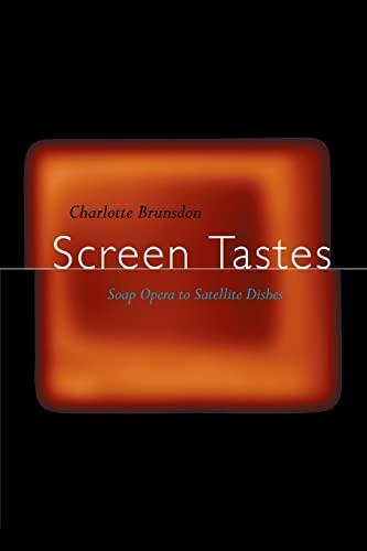 9780415121552: Screen Tastes: Soap Opera to Satellite Dishes