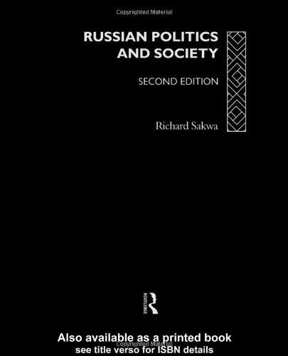 9780415121606: Russian Politics and Society