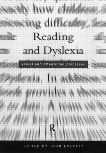 9780415123273: Reading and Dyslexia: Visual and Attentional Processes (Psychology in Progress)