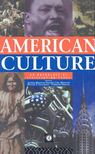 9780415124393: American Culture: An Anthology of Civilization Texts