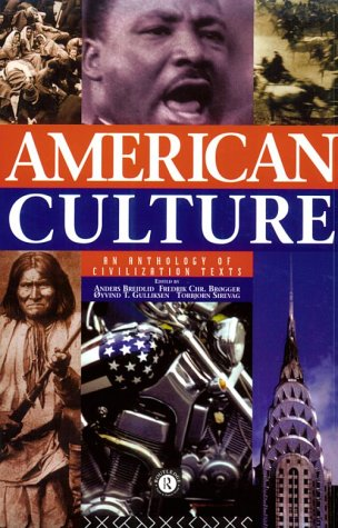 9780415124409: American Culture: An Anthology of Civilization Texts