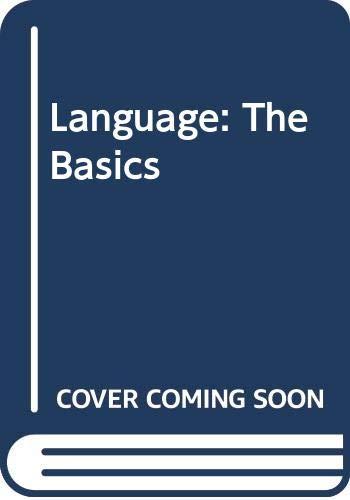 9780415125406: Language: The Basics