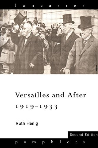 9780415127103: Versailles and After, 1919-1933 (Lancaster Pamphlets)