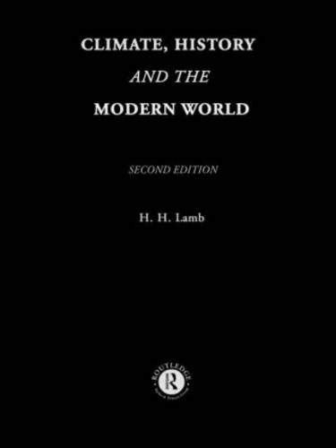 9780415127349: Climate, History and the Modern World