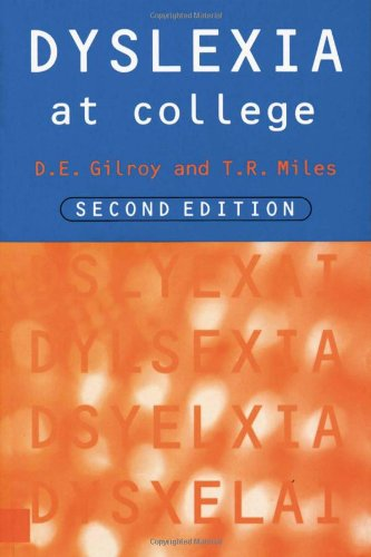 9780415127783: Dyslexia at College