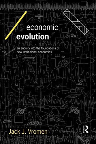 9780415128131: Economic Evolution: An Inquiry into the Foundations of the New Institutional Economics (Economics as Social Theory)