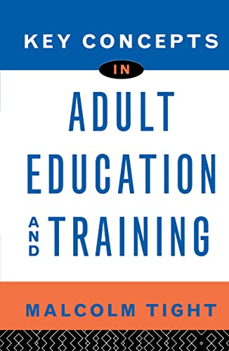 9780415128339: Key Concepts in Adult Education and Training