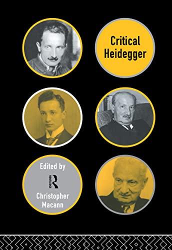 9780415129497: Critical Heidegger