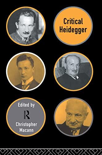 9780415129503: Critical Heidegger