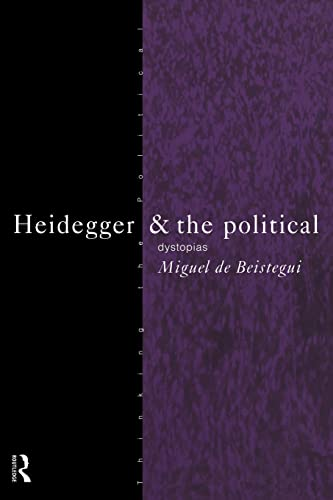 9780415130646: Heidegger and the Political (Thinking the Political)