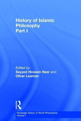 9780415131599: History of Islamic Philosophy, Part 1