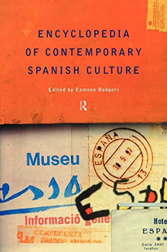 9780415131872: Encyclopedia of Contemporary Spanish Culture (Encyclopedias of Contemporary Culture)