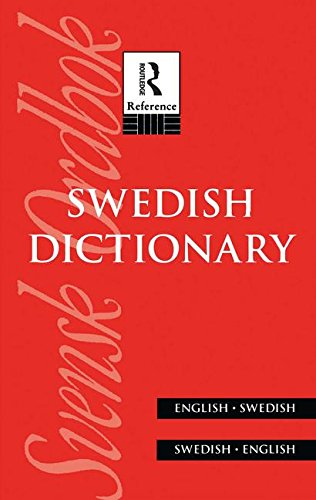 9780415132442: Swedish Dictionary: English/Swedish Swedish/English (Bilingual Dictionaries)